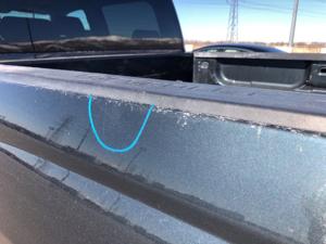 Damage: Left Qtr Panel