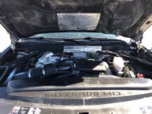 Front Hood Open / Engine