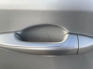 Damage: Left Rear Door Handle