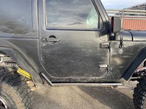Damage: Right Front Door