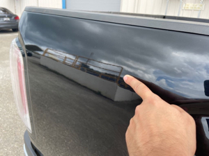 Damage: Right Qtr Panel