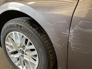 Damage: Left Front Fender