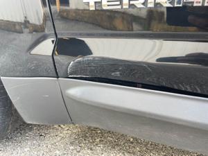 Damage: Left Front Door