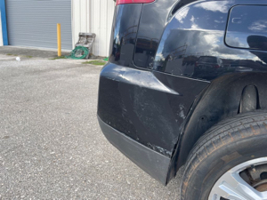 Damage: Rear Bumper