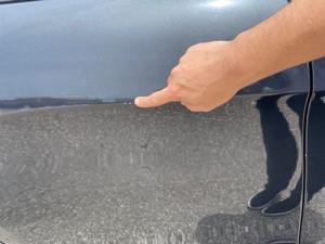 Damage: Right Rear Door
